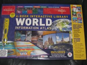 Brand new in the box 6 book interactive library from BRITANNICA