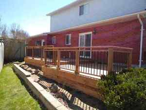 Custom Decks, Pergolas, Fences and Structures Kitchener / Waterloo Kitchener Area image 2