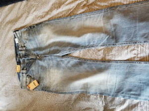 New mens Silver jeans 34