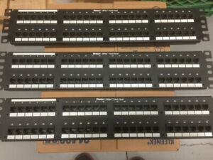 Panduit dp5e 48-port patch panel