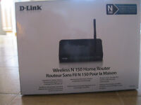 FOR SALE: Brand new wireless n150 home router (still in the box)
