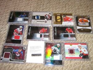 Hockey Jersey And Auto + Young Guns Hockey Cards + Others