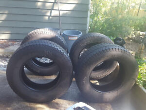 Set of 4 good used Goodyear Wrangler LT 275 65 R18