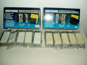 10 PACK WALL SWITCHES NEW $10