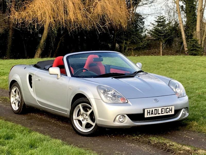 2006 55 toyota mr2 1 8 vvti roadster convertible 48k miles tfsh just serviced in enfield. Black Bedroom Furniture Sets. Home Design Ideas