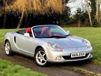 2006/55 TOYOTA MR2 1.8 VVTI CONVERTIBLE 48K MILES TFSH (JUST SERVICED)