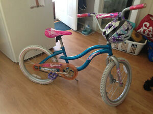 Gently used girls bike