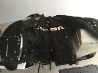 Icon Motocycle jacket and boots