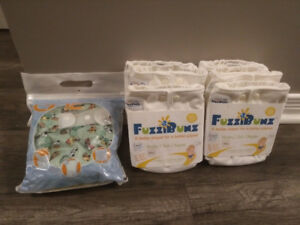 7 Re-usable Diapers (Brand New w/Tags)