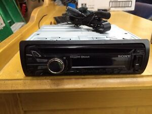 Radio Sony Bluetooth, USB aux