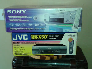 "Two ""NEW"" VCR's  JVC / Sony"