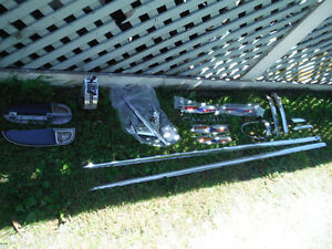 1955 Chev 2 Door Post Body Side Trim, Paint dividers, Arm Rests