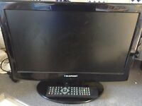 18.5 inch Blaupunkt LED TV/DVD - faulty