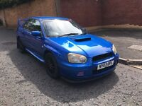 2003 SUBARU IMPREZA TURBO MODIFIED STI EXTRAS 1 YEARS MOT