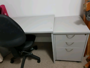 Spacious office desk