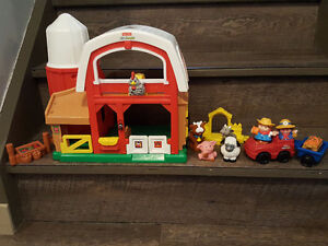 Fisher Price farm, Fisher Price house