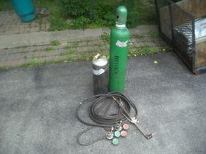 Oxy/ Acetylene Cutting Torch Set- Complete