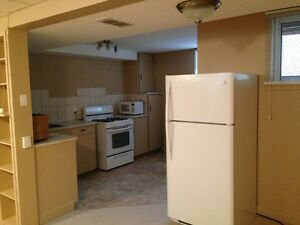 Sunny basement suite for rent by Hospital/Gyro park