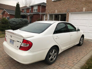 2002 Toyota Camry SE 6 cylinder low mileage well maintenance