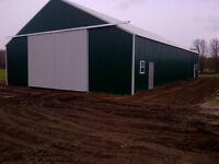 pole Barns, Steel Service Buildings