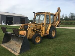 Ford 445A Backhoe