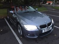 BMW 330d CONVERTIBLE AUTO/ RED LEATHER/ XENON/ PRO NAV!