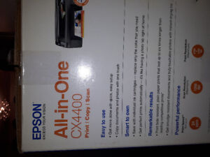Epson All in One CX4400 prin t copy scan brand new  $60 or BO