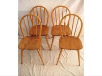 Blonde Ercol Chairs