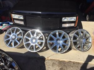 "Chrysler 300 18"" AWD rims"