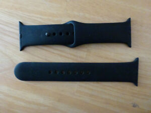 Apple iWatch 38mm black Sports band
