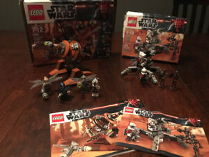 2 Star Wars sets – 9491 and 9488