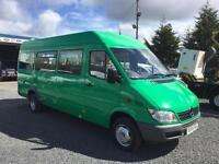 Mercedes-Benz SPRINTER 411 CDI automatic 17 seat minibus only 72,000