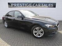 2012 BMW 3 Series 2.0 320d Sport (s/s) 4dr Diesel black Manual