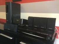 Panasonic SC-PT467 Home Cinema System with wireless rear speakers