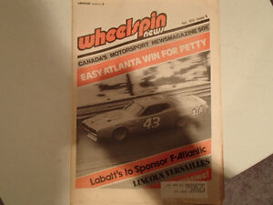 Collection of 6 Vintage WHEELSPIN NEWS Canada's Motorsport News Sarnia Sarnia Area image 6