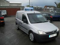 Vauxhall/Opel Combo 1.7CDTi 16v 2005, 5 SEATS