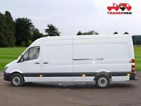 14 MERCEDES-BENZ SPRINTER 313 CDI EURO 5 Long Wheel Base High Roof Panel Van DIE