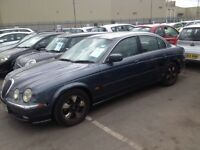 Jaguar S Type Auto 2000. Mot Tax Leather