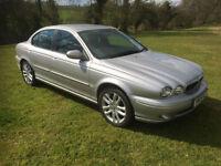 2005 Jaguar X-TYPE 2.5 V6 auto SPORT full leather trim new mot & oil service .