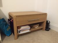Oak effect coffee table / TV Stand