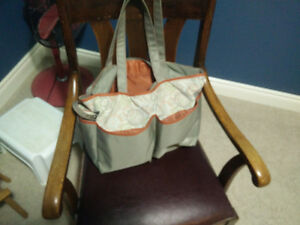 Graco baby bag with bottle holder