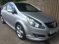 2009 59 Vauxhall/Opel Corsa 1.7CDTi SRi 70k FSH 70.6 MPG 125 BHP 6 SPEED P/X