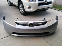 2006-2008 Honda Civic Front Bumper 4 door with Grill and Logo