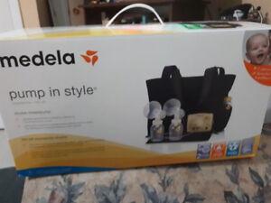 New Medela Never Used in Style Double  Electric Breast Pump.