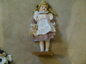 "Collectible porcelain dolls ""Innocent"""