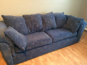 2 Blue Couches