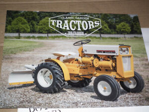 OLD  LAWN  TRACTOR  PICTURE  CALENDAR  2019 .
