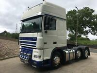 2004 54 DAF XF95.430 6x2 super space tractor unit