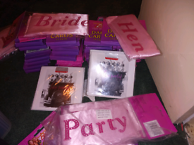 Brand New Hen Party Accessories