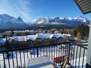 Top Floor South Facing Tourist Zoned 1 bd Condo in Canmore